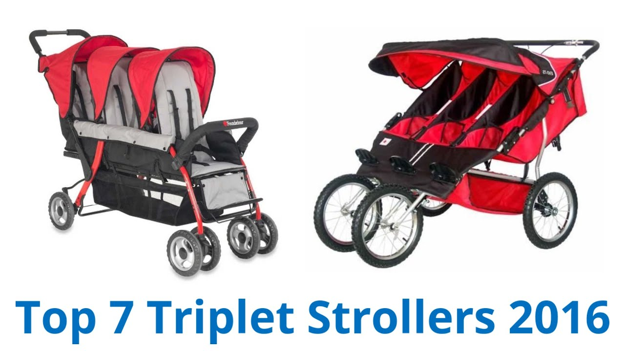7 Best Triplet Strollers 2016 - YouTube