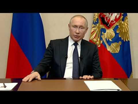 Путин на неделю закрыл Россию на КАРАНТИН и отложил голосование ПО ПОПРАВКАМ