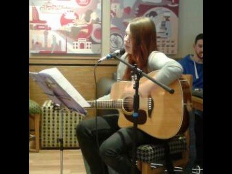 Iris by Goo Goo Dolls sung by Emma-Louise Ellis 26.04.15 at WFYFC Costa lounge