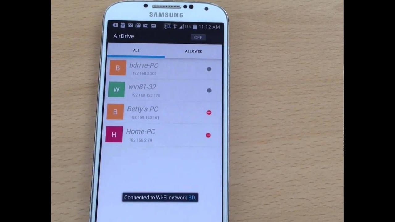 LG Mobile AirDrive Device Treiber Windows XP