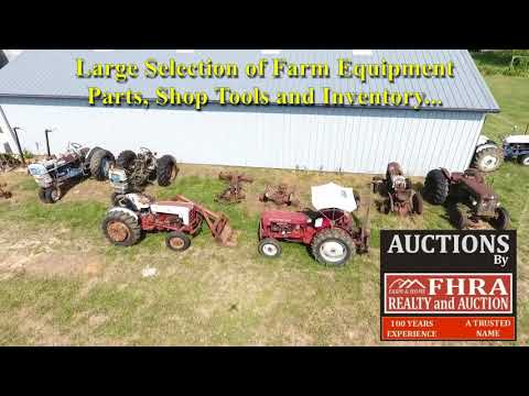2 Day Farm Land and Equipment Auction