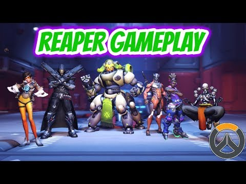 Overwatch | Reaper Gameplay