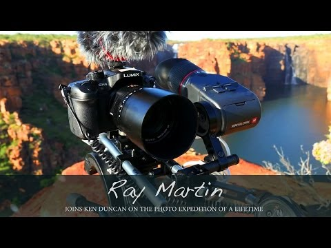 Lumix GH4 In Action During Ken Duncan And Ray Martin's Photo Expedition Of A Lifetime