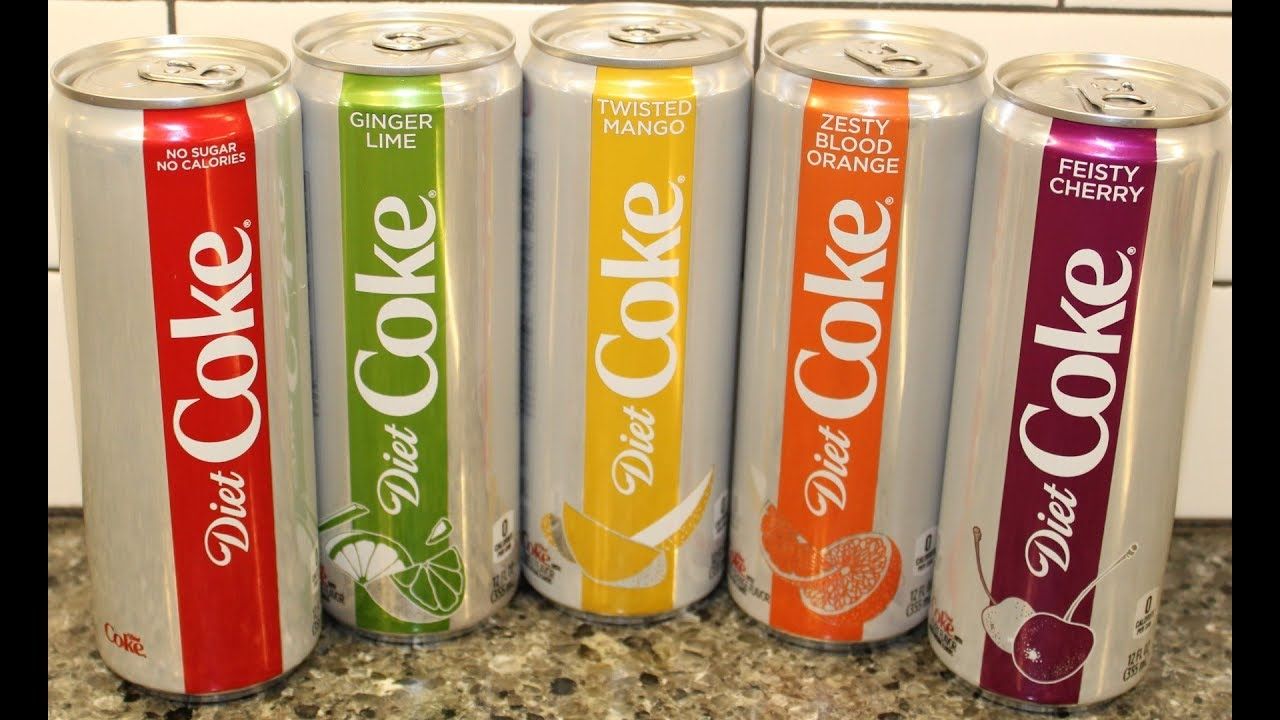 does ginger lime diet coke have caffeine