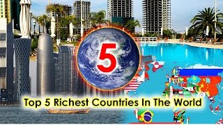 Top 5 Richest Countries in the world# Banks Gdp (Per Capita $) #Top Blaster