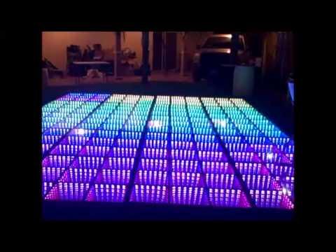 Vista Wallpaper Hd Pista De Baile Iluminada Leds Infinity Eternity Torreon