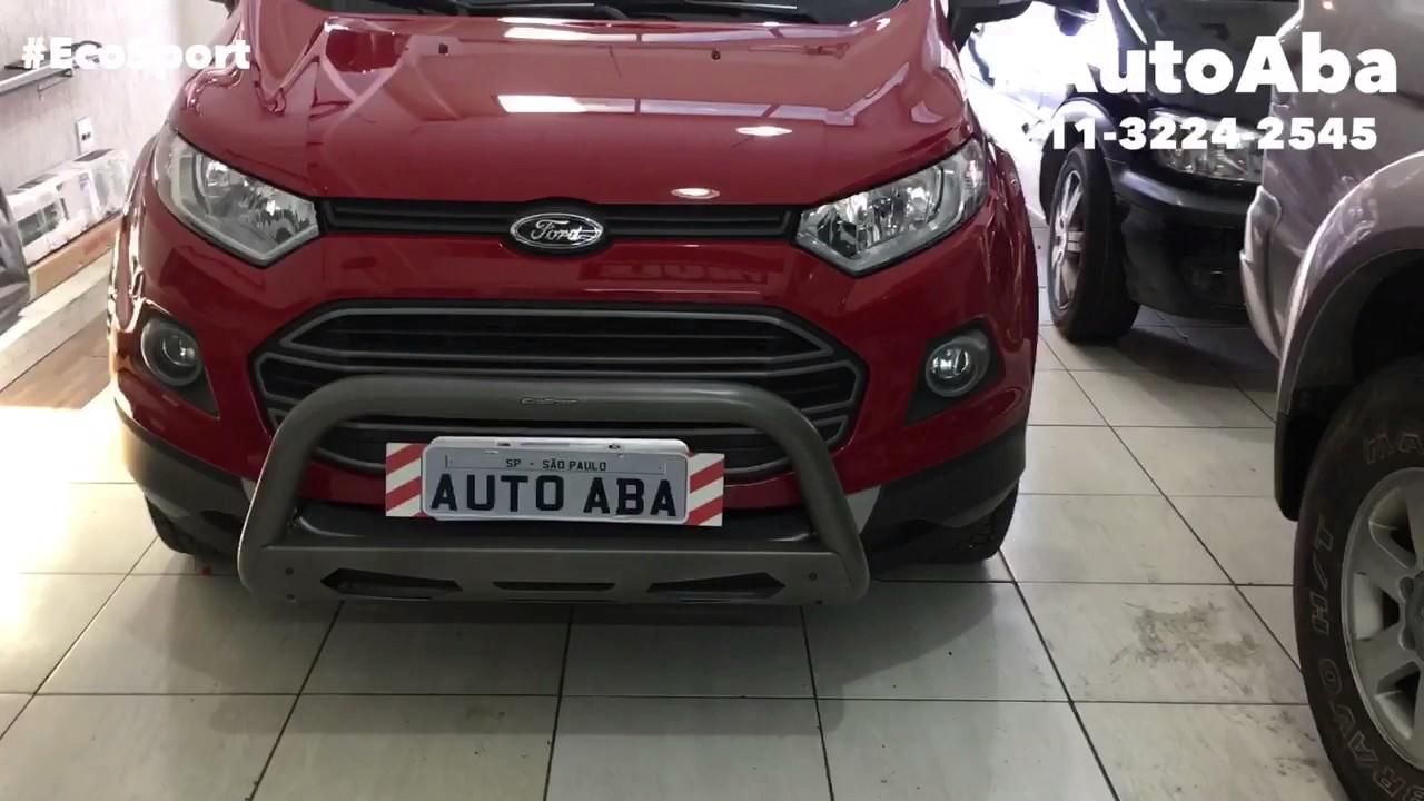 Quebra Mato Ford Ecosport 2013 A 2017 Autoaba Acessorios Youtube