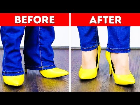 27 JEANS HACKS TO MAKE YOUR LIFE EASIER - YouTube