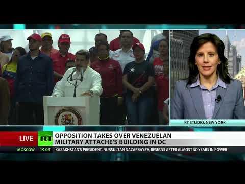 Guaido's team seizes Venezuelan diplomatic offices