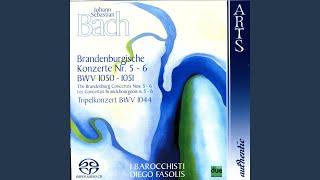 Brandenburg Concerto No. 5 in D Major, BWV 1050 - Part I (J.S. Bach)