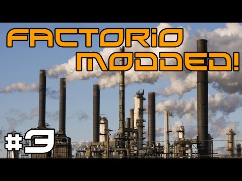 Factorio Modded Multiplayer - Glass Production! #3
