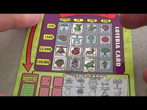 #7 Lottery Challenge Scratcher Tickets From Nevada Arcade Channel & Yoshi