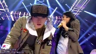 [지드래곤 G-DRAGON] -GD R.O.D(feat. CL) @인기가요 inkigayo 130929