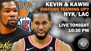 Kevin Durant and Kawhi Leonard may Team Up  | Best Options Knicks or Clippers | Pre-Free Agency Show