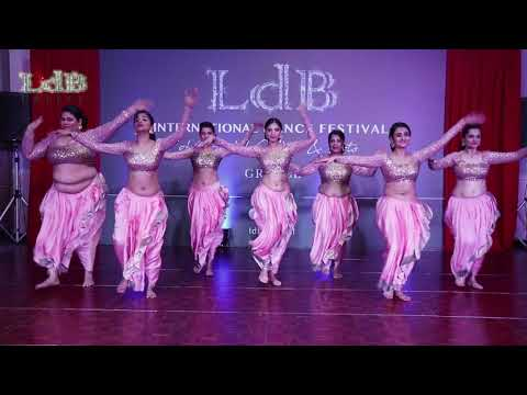 Art of Bellydance   Sanjana's Group @ LdB Greece Oriental Dance Festival
