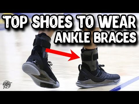 Top 5 Basketball Shoes to Wear With Ankle Braces!
