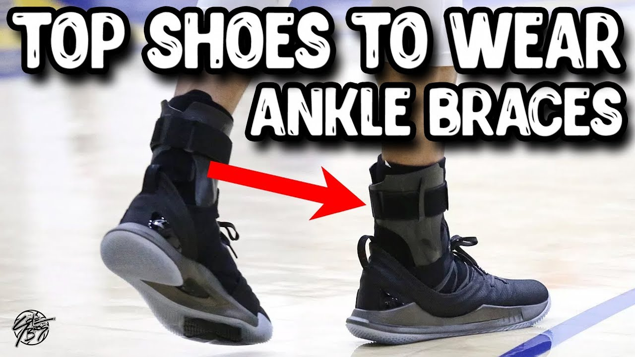 8405067bc04 Top 5 Basketball Shoes to Wear With Ankle Braces! The Sole Brothers