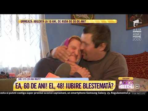 Dragoste cu năbădăi! Ea are 60 de ani, el, doar 48!