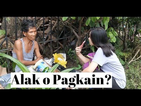 PINOY EXPERIMENT: Alak o Pagkain?