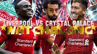 Liverpool vs crystal palace live watchalong #lfc fan reactions