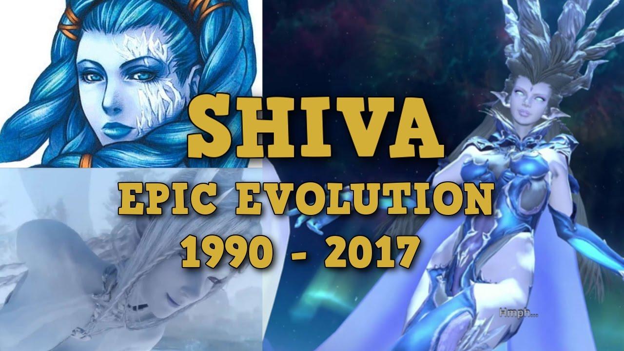 Final Fantasy Epic Evolution Series 1 Shiva 1990 2017 Youtube