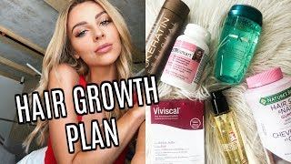 Hair Care Routine | Growing Out Damaged Hair