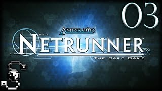 Use the Back Door! | Android Netrunner: The Card Game 03 - Tabletop Simulator [Live Stream]