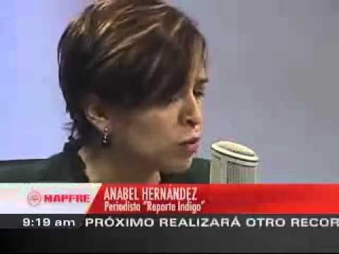 Anabel Hernández habla sobre su libro con Carmen Aristegui 1   - YouTube.flv