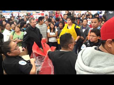 Gallup walmart  blackfriday brawl