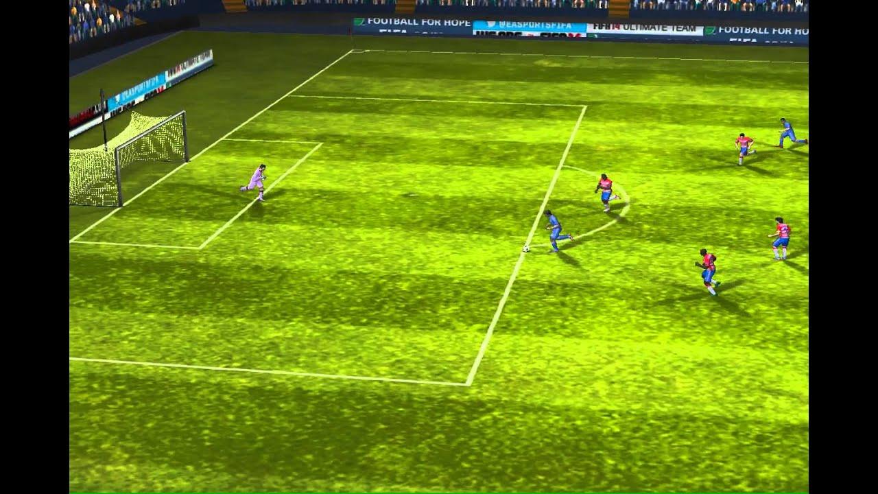 FIFA 14 iPhone/iPad - Real Madrid vs. Granada CF - YouTube
