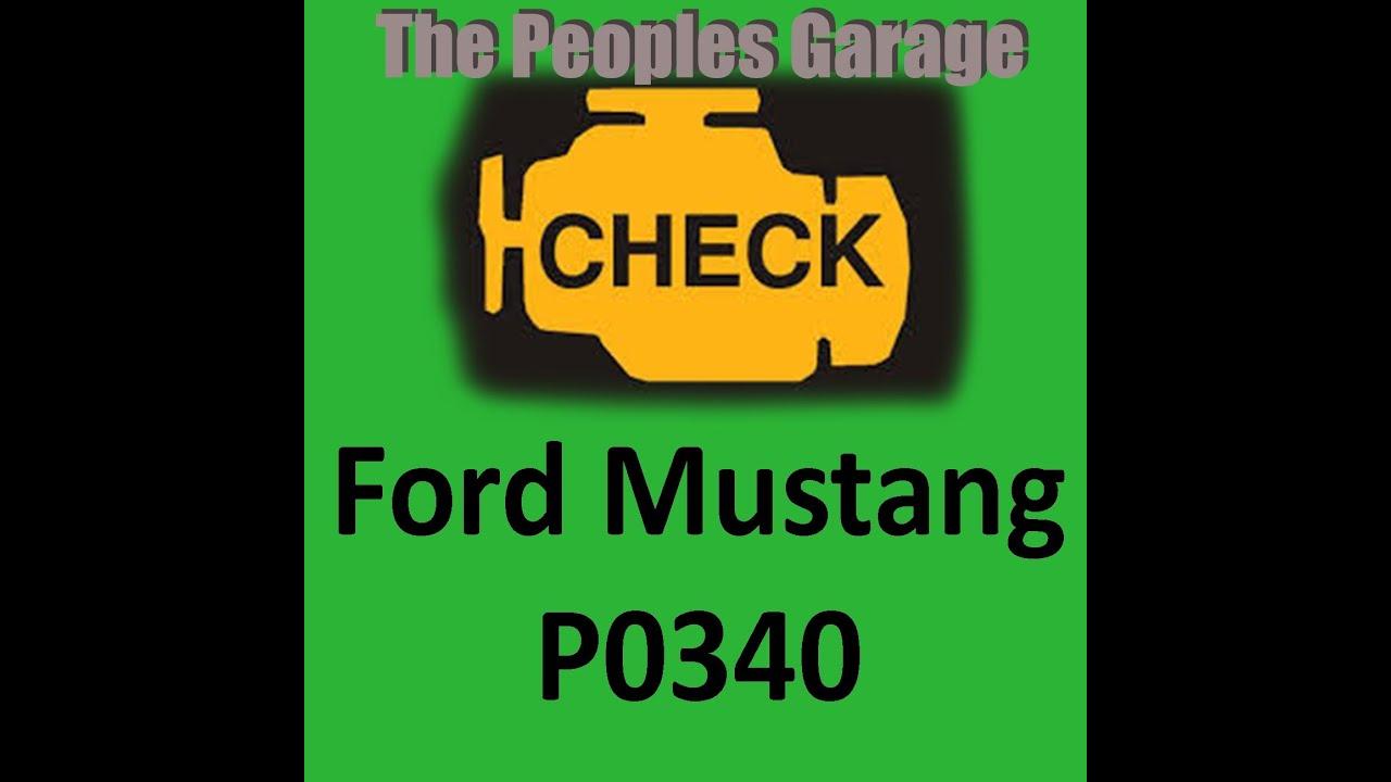 P0340 Code Ford V8 4 6l Engine