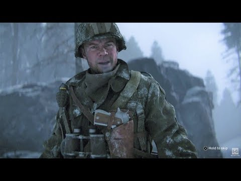 WW2 - Allied Ambush Over German Convoy - Call of Duty WW2