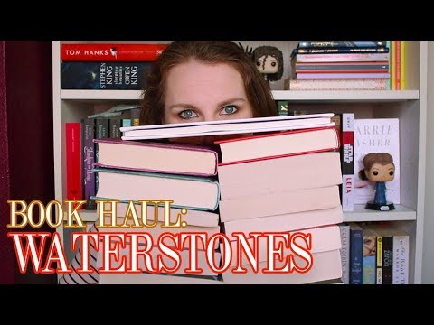 WATERSTONES BOOK HAUL || kazzifiied29