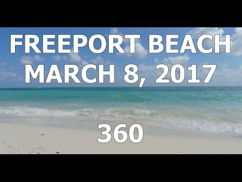 Freeport Grand Bahamas Public Beach - March 8 2017 (360)