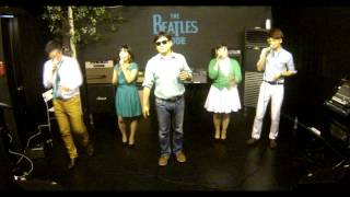 "Korean Acappella Group ""Real Voice"" - The Grass grows greener(LIVE)"