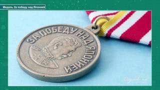 Медали «За победу над Германией в ВОВ 1941-1945 гг» и «За победу над Японией»