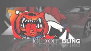 Bulldog Color Tattoo Belt Buckle By Fly Fresh    Tbu-5a