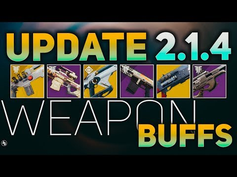 Weapon Archetype and Exotic Buffs Incoming (Sandbox 2.1.4) | Destiny 2 Sandbox Changes thumbnail