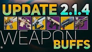Weapon Archetype and Exotic Buffs Incoming (Sandbox 2.1.4) | Destiny 2 Sandbox Changes