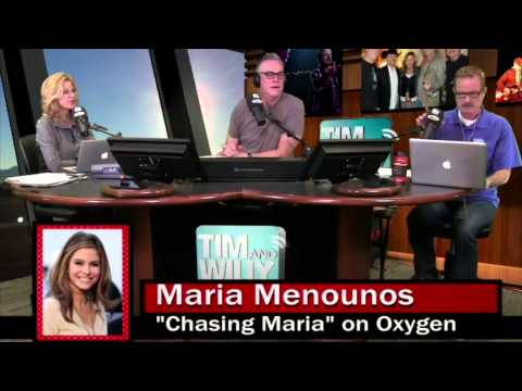 CHASING MARIA WITH MARIA MENOUNOS - Tim and Willy Show 5-20-2014