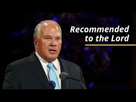 Recommended to the Lord | Ronald A. Rasband | October 2020