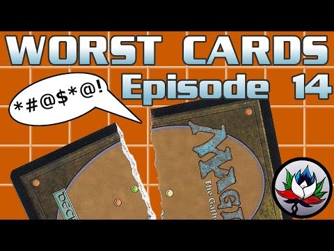 MTG – The Worst Magic: The Gathering Cards Ever Printed – Episode 14!