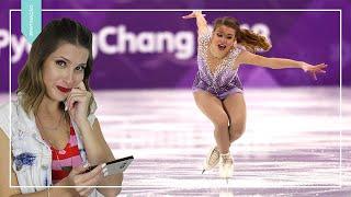 Isadora Williams nas Olimpíadas de Inverno | Comentando PATINAÇÃO ARTÍSTICA NO GELO!! 2018
