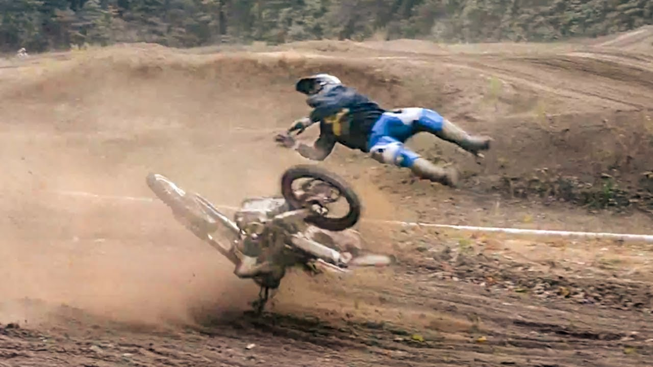 Les Pires Chutes En Motocross