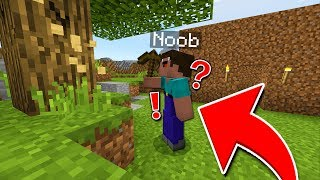 THINGS A NOOB DOES IN MINECRAFT... (Minecraft Survival #6)