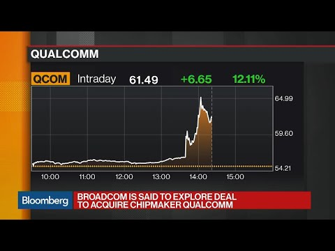 Broadcom Is Said to Explore Deal to Acquire Qualcomm