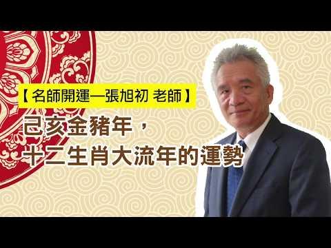 工商時報 2019張旭初老師十二生肖大流年的運勢