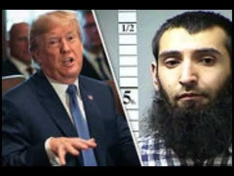 Trump says Manhattan terrorist came into the U S  with a 'diversity visa'