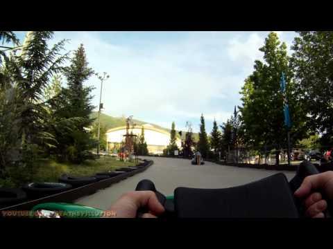 Double Thunder Raceway On-ride (HD POV) Lagoon Park