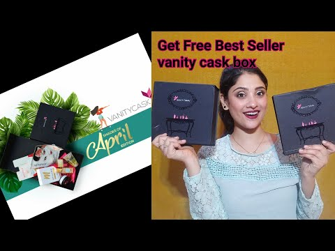 Vanity cask April edit || get free best seller box 😍